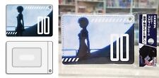 Neon Genesis Evangelion Full Color Pass Case Rei Ayanami Khara Corp Licensed New