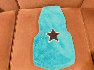 Pet Dog Blue Fleece Winter Vest / Jacket • Size L