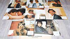 MALADIE D'AMOUR ! jacques deray jeu de photos cinema lobby card