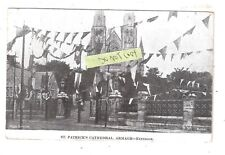 St. Patrick's Cathedral Bunting Celebrations Armagh Exterior Hely's Limited 1904