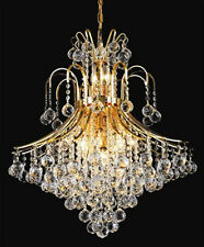 New! Crystal Chandelier Toureg Gold 15 Lights 25X31