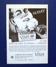 A723-Advertising Pubblicità-1962-CREMA PER BARBA VISET