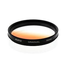Albinar 52mm Orange Graduated Gradual Color Filter