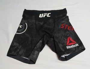 2017 UFC 215 Jeremy Stephens Match Used Worn UFC In-Fight Shorts! Amanda Nunes