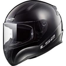 LS2 Helmet Bike Full-face Ff353 Rapid Mono Gloss Black L