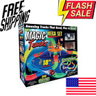 Magic Tracks Mega Set with 18ft Racetrack with 2 Race Cars As Seen on TV NEW🔥😊