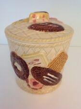 Vintage Cookie Jar Japan Basket Weave