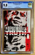 The Department of Truth #1 (2020) - CGC 9.8 - Tynion - Image Comics - 1st Print