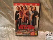Comic Book Villains DVD Donal Logue Michael Rapaport Dj Qualls