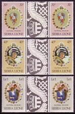 Royalty Sierra Leonean Stamps (1961-Now)