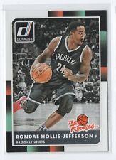 15-16 Donruss The Rookies RC 18 Rondae Hollis-Jefferson - Brooklyn Nets