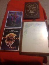 Lot of 4 Religious Plaques Art Cat Jesus Cross