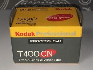 Kodak Professional Process C-41 T400CN 135/24 Black & White Film Expired 2000