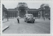 PHOTO ANCIENNE - VINTAGE SNAPSHOT - AUTOBUS BUS AUTOCAR DODGE BELGIQUE CAR