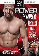 WWE Power Series: Triple H - 6 Workouts (DVD, 2014)