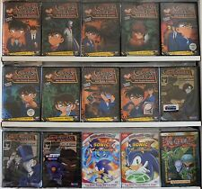 Wholesale Lot of 30 New Anime Case Closed Yu Yu Hakusho Sonic X DVDs Great Lot