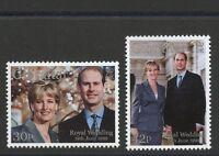 Wedding Prince Edward & Sophie Rhys-Jones 2 mnh stamps 1999 Gibraltar #815-6