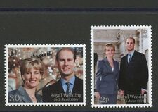 Royal Wedding Prince Edward & Sophie Rhys-Jones 2 mnh stamps 1999 Gibraltar