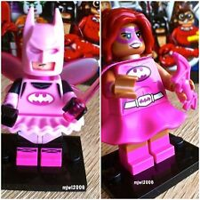71017 THE LEGO BATMAN MOVIE Fairy Batman & Pink Batgirl 2 Minifigs SEALED Bundle