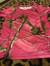 RealTree Women's Short Sleeve Shirt Sz L 12-14 MultiColor Top