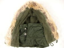 Vietnam USN Navy Type A1 Extreme Cold Weather Jacket Hood w/Coyote Fur 1959 MINT