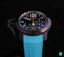 Graham Chronofighter Superlight Carbon Turquoise Men's Watch
