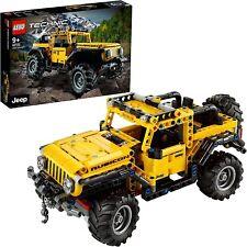 LEGO 42122 Technic Jeep Wrangler4x4 Spielzeugauto,Geländewagen,SUV Modell Bauset