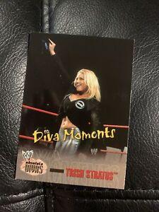 2002 Fleer WWE Absolute Divas Diva Moments Trish Stratus #75