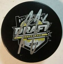 Autographed CODY CECI Signed 2012 NHL Draft Hockey Puck Ottawa Senators