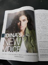 IN NEW YORK Magazine Cover/Feature IDINA MENZEL New Voice Off Broadway 2018