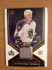 2002/3 Pacific game used jersey card Aaron Miller Los Angeles Kings