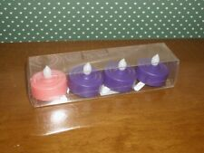 ROMAN LED ADVENT TEA LIGHTS - SET OF -NEW IN PACKAGE