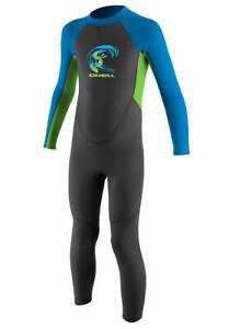 2mm Toddler's & Kid's O'Neill REACTOR Full Wetsuit - Boys