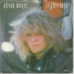 "Alison Moyet - Is This Love? 7"" Vinyl Single 1986"