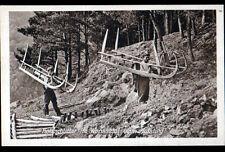 VALLEE de la WORMSA (68) BUCHERON / SCHLITTER , cliché période 1920-1940