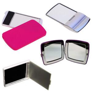 Compact Folding Pocket Mirror Handbag Travel Cosmetic Makeup Portable Vanity LED