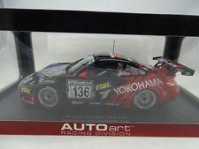 1:18 AutoArt 80571 PORSCHE 911 (996)GT3 RSR NURBURGRING 2005 #136 YOKOHAMA RARO