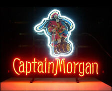 "New Captain Morgan Pirate Whiskey Beer Neon Sign 20""x16"""