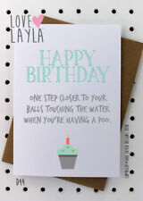 Greetings Card/Birthday Card/guys birthday/Love Layla Australia/Funny/Humour/D44