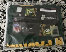 Sidelines Collection NFL Green Bay Packers Pillow Sham