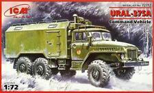 URAL 375 A COMMAND VEHICLE (SOVIET, RUSSIAN, GERMAN, UKRAINIAN MKGS) 1/72 ICM