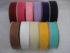 Organza Ribbon, 10mm, 11 Colours, 2-3 Metres