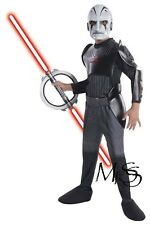 Star Wars Rebels Deluxe Inquisitor Costume   *   Size 6-8  *