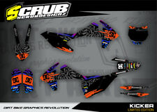 KTM graphics SX SXf XC 125 250 300 350 450  2016 2017 2018 MX '16 '17 '18 SCRUB