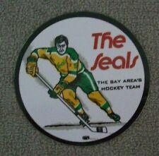 New ListingVintage 1972 N.H.L.Oakland Bay Area California Golden Seals Sticker Decal