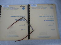 Lake Erie Vintage Great Lakes Environment Pollution Study Report Set 1970