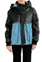 Just Cavalli 100% Lamb Fur Multi-Color Full Zip Women's Basic Jacket US S IT 40