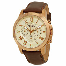Fossil Grant Adult Casual Round Wristwatches