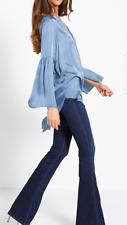 jeans pantalone donna slim fit X-PLAIN MET A ZAMPA franchi denny 25 26 new blu