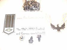 1964 - 1981 PONTIAC OIL PAN BOLT SET CORRECT - FIREBIRD - TRANS AM - GTO LEMANS